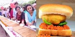 Indian Restaurant makes World's longest Vada Pav