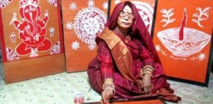 Mandana Paintings becoming a dying tradition in North India