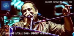 Win Tickets for Ustad Rahat Fateh Ali Khan at O2 Arena