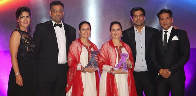 Winners of the Asian Achievers Awards 2016