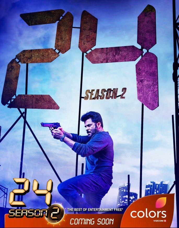 Anil Kapoor returns for 24 Season 2