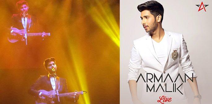 Armaan Malik mesmerises in first UK Concert