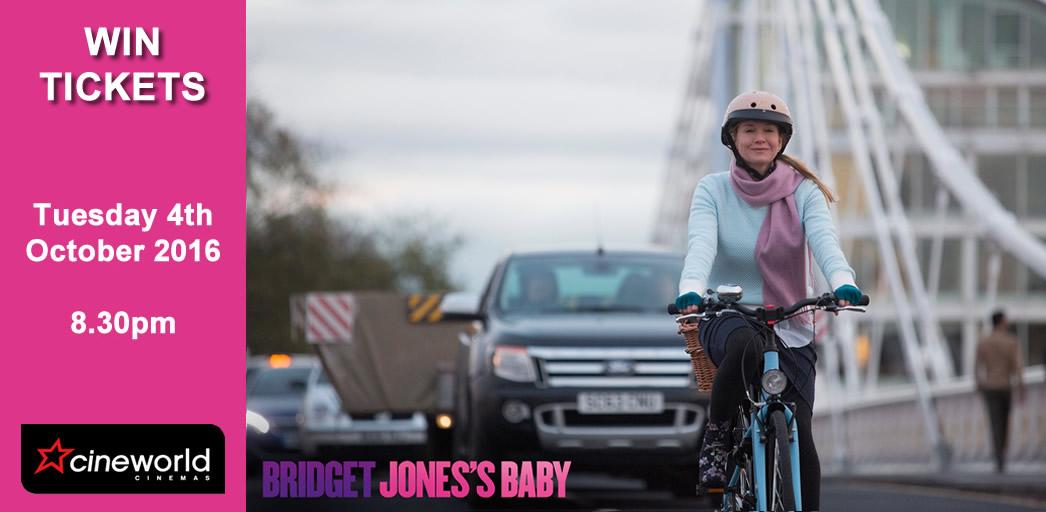 Win Tickets to see Bridget Jones's Baby