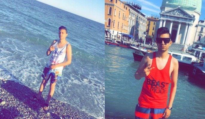 D4NNY filmed 'Drama' in Italy