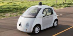 سیلف ڈرائیونگ گوگل کاریں پولیس کا پتہ لگانے میں اہل ہوں گی