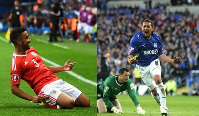 Neil Taylor and Michael Chopra are two of the three British Asian footballers to play in the English Premier League
