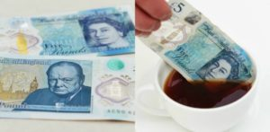 How is the new British £5 note Different?
