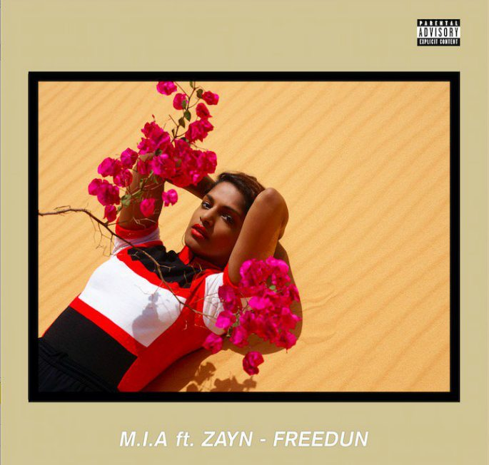 M.I.A. unveils 'Freedun' with Zayn Malik
