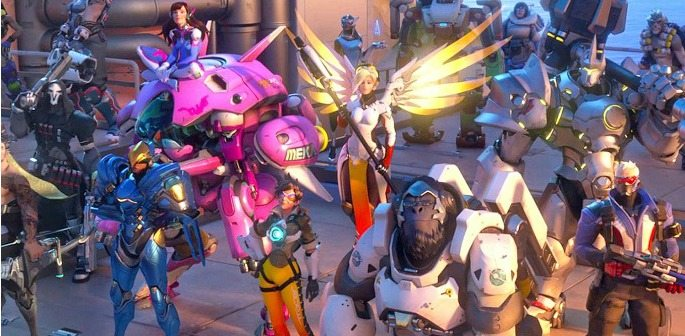Overwatch Top 10 Visually Stunning Games