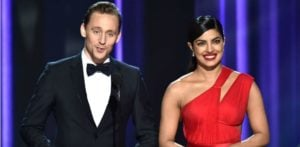 Priyanka Chopra swoons over Tom Hiddleston at Emmys 2016?