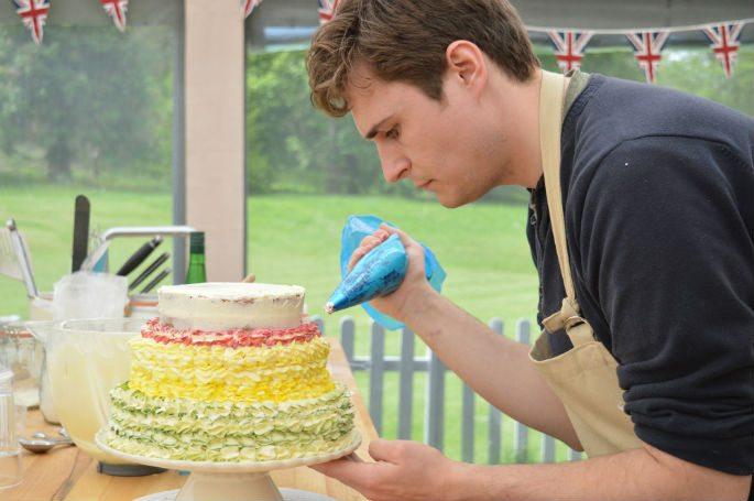 Rav bids Goodbye to Great British Bake Off