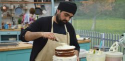 Rav bids Goodbye to Great British Bake Off
