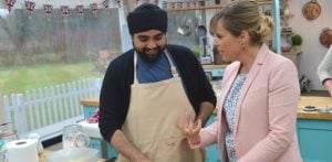 Rav creates Desi Fusion bread in Great British Bake Off