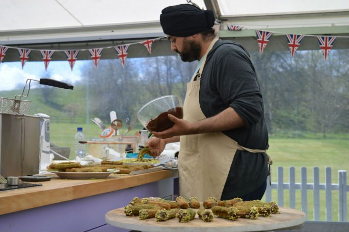 Rav delights with Yorkshire Pudding in Great British Bake Off