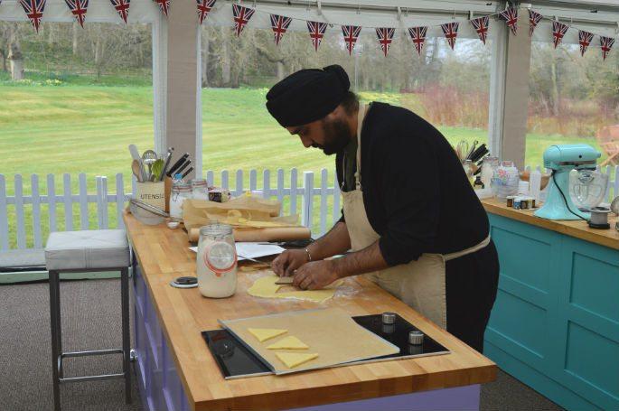 Rav's Gingerbread Story in Great British Bake Off