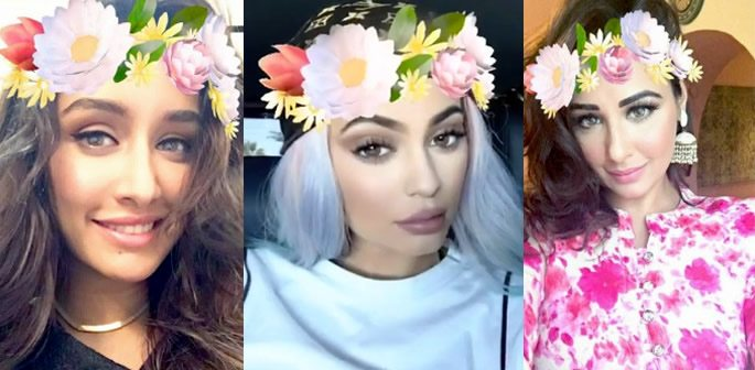 The Flower Crown Filter craze on Snapchat  0e230cae5960