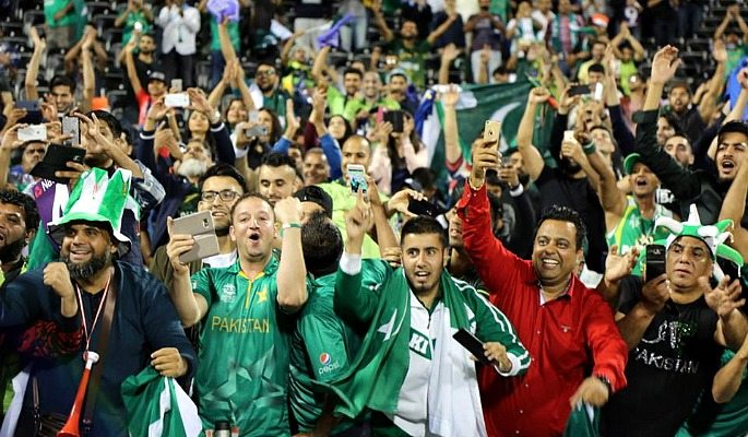 Old Trafford had an incredible amount of Pakistan fans