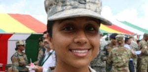 US Indian Female Soldier asset for India and USA Armies