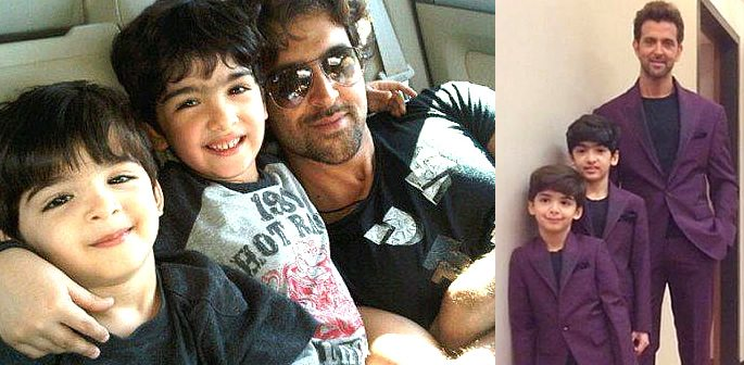 Hrithik Roshan's sons turn script writers for Krrish 4