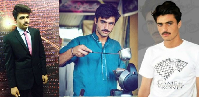 Pakistani #ChaiWala Arshad Khan signs Modelling Contract