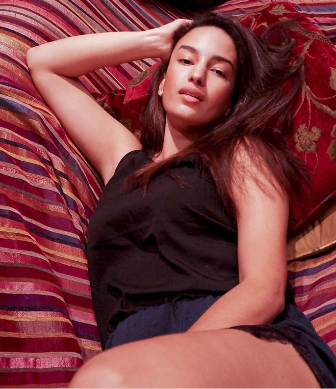 A Sexy Rendezvous with Supermodel Elena Fernandes