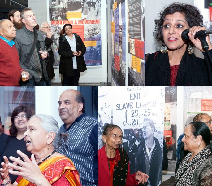 Grunwick 40 Exhibition remembers 'Strikers in Saris'