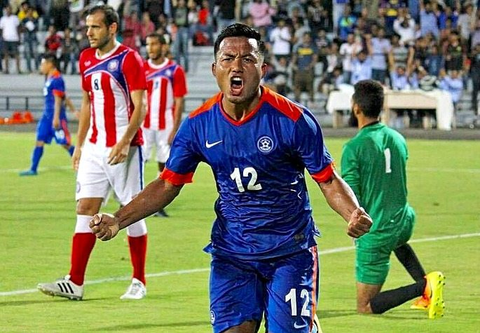 Jeje Lalpekhlua scored in India's incredible 4-1 win over Puerto Rico