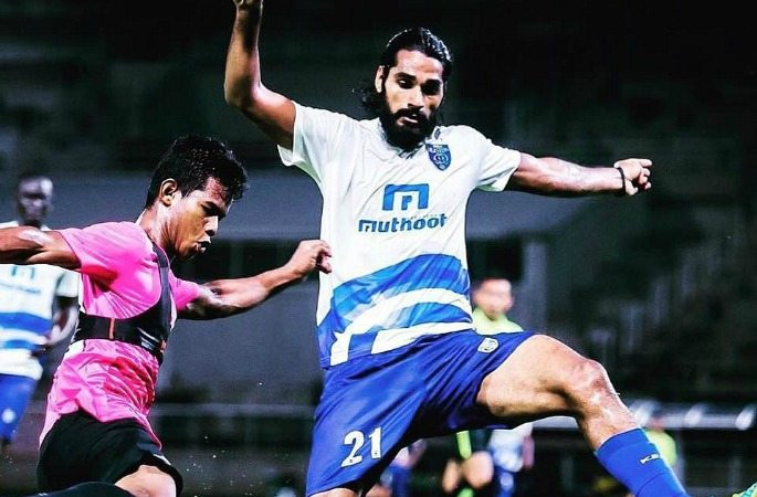 Sandesh Jhingan has helped secure the Kerala defence in ISL 2016