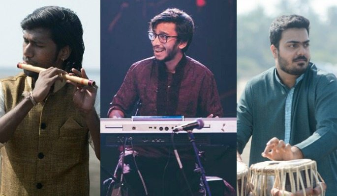 Tushar Lall, Samay Lalwani, and Prathamesh Salunke make up the Indian Jam Project