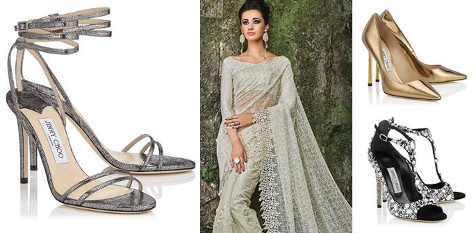 5 Jimmy Choo 'Memento' shoes to Match your Saree Outfit