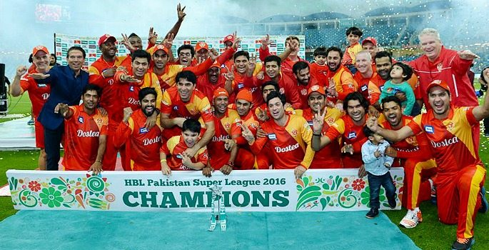 Islamabad United won the inaugral Pakistan Super League and will be looking to retain their title in 2017