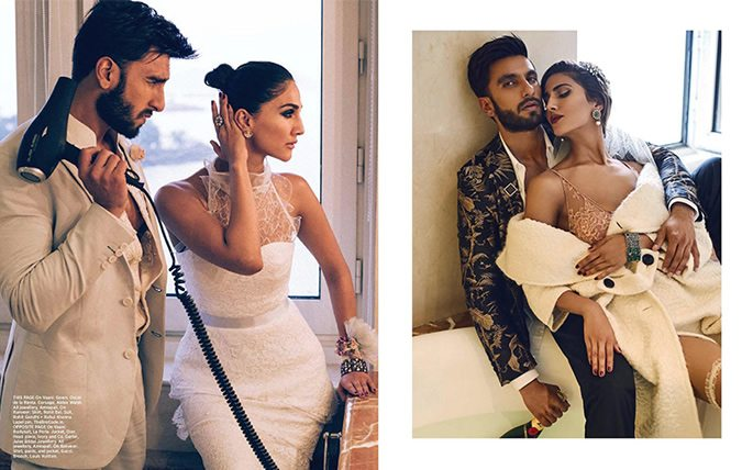 Ranveer and Vaani give Bold and Sexy a new Meaning