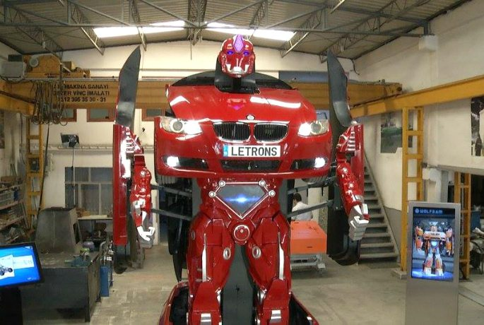 Real life Transformers built by Turkish Company