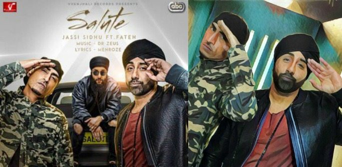 'Salute' brings together Jassi Sidhu, Dr Zeus and Fateh Doe