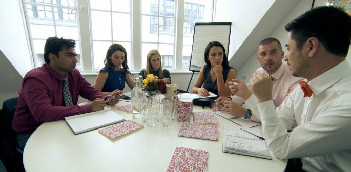 Karthik is a Fashion Guru in Week Four of The Apprentice