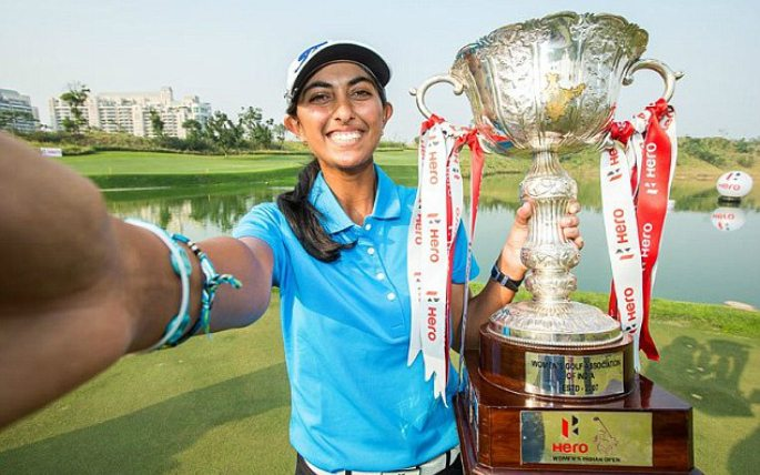 Aditi Ashok wins Hero Women's Indian Open making History