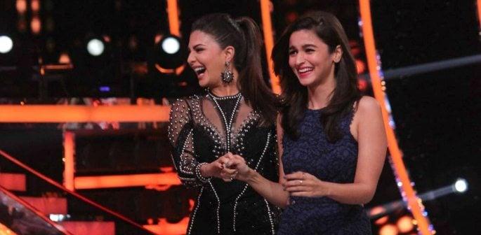 Alia Bhatt and Jacqueline Fernandez belly dance on Jhalak