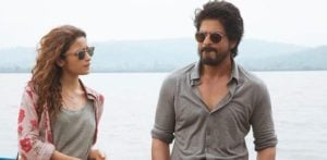 Shahrukh Khan and Alia Bhatt on Highway of Life in Dear Zindagi
