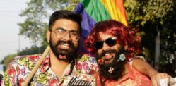 Gay Pride Parade colours New Delhi streets in India