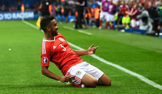 Neil Taylor played every part of Wales' historic Euro 2016 campaign and scored a rare goal too