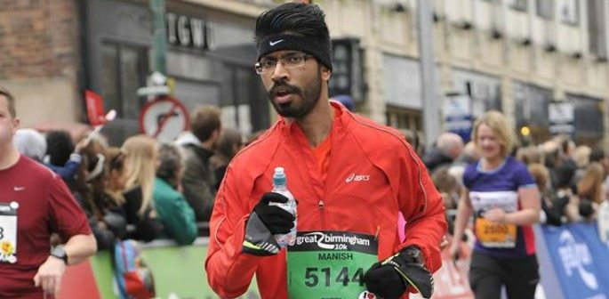 Manish Patel runs 540 miles for Children in Need Charity