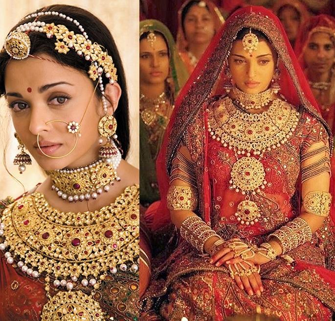 Most Expensive Bollywood Costumes - Aishwarya Rai Jodha Akbar