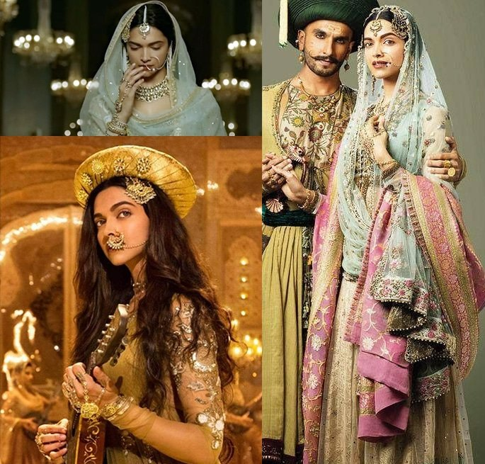 Most Expensive Bollywood Costumes -Deepika Padukone Bajirao Mastani