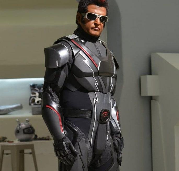 Most Expensive Bollywood Costumes - Rajinikanth Enthiran (Robot)