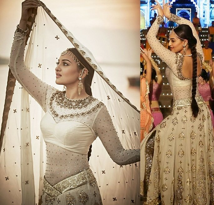 Most Expensive Bollywood Costumes - Sonakshi Sinha Tevar