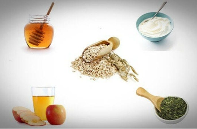 Natural face masks for Rosacea