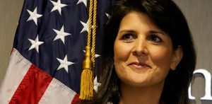 Indian American Nikki Haley is Trump's UN Ambassador