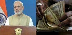 મોદી પર પ્રતિબંધ ભારતની 1000 અને 500 ની નોટો