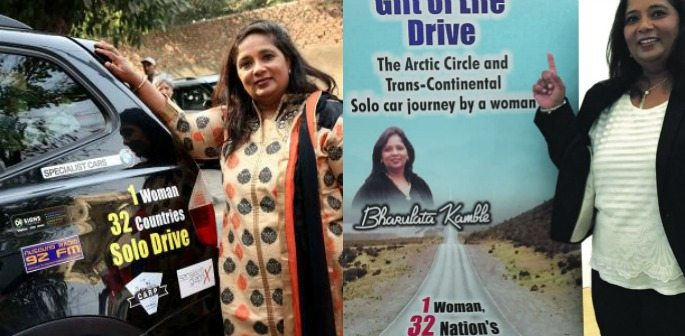 Asian Woman Finishes Road Trip From UK to India