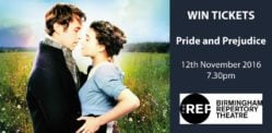 Win Tickets to see Pride and Prejudice at The REP